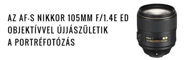 AF-S NIKKOR 105MM F/1.4E ED OBJEKTÍV