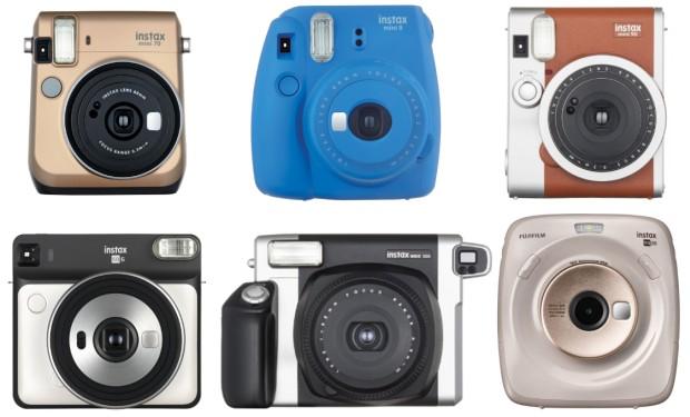 Instax fényképezőgépek